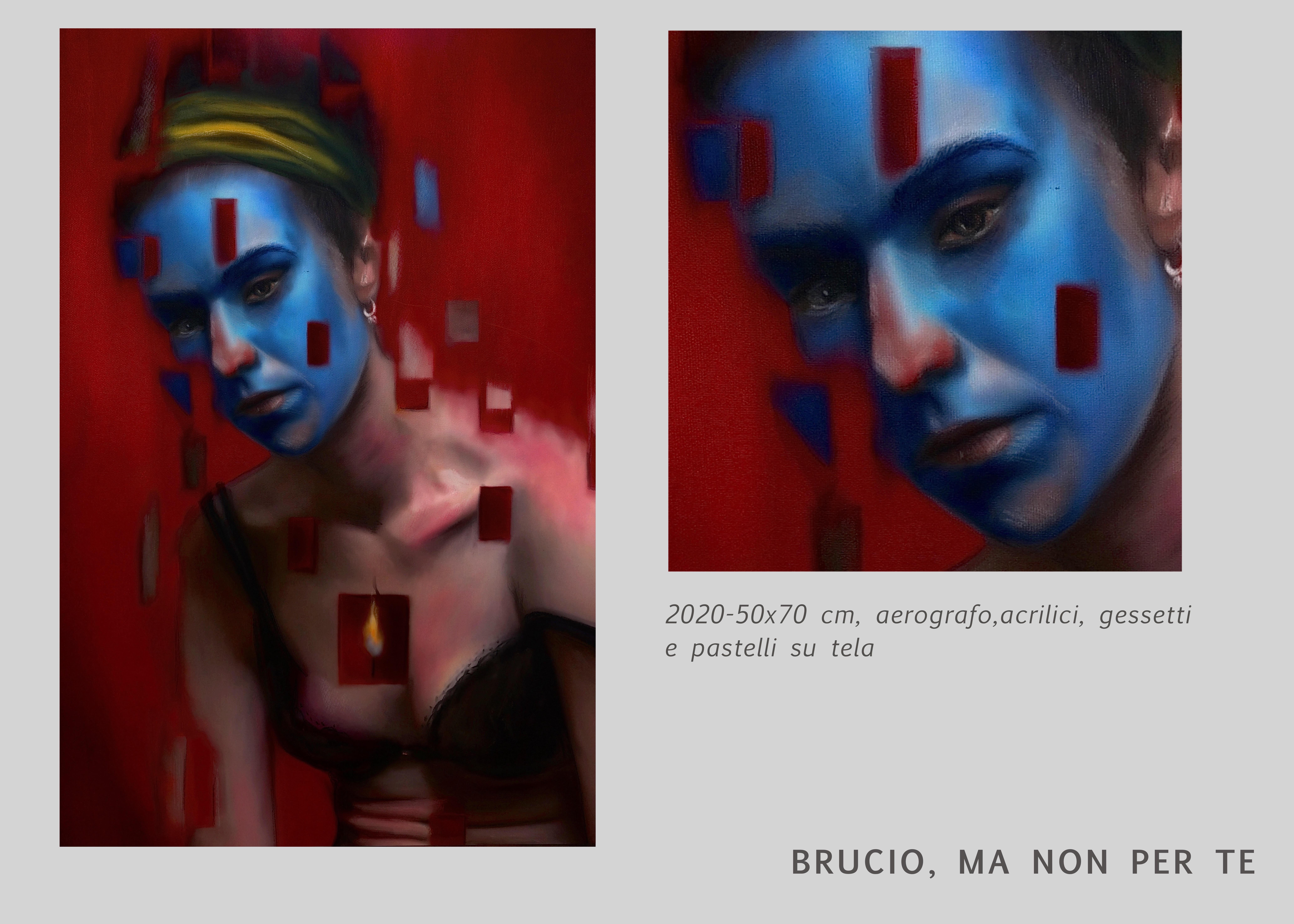 BRUCIO MA NON PER TE-CHIARA LUISE