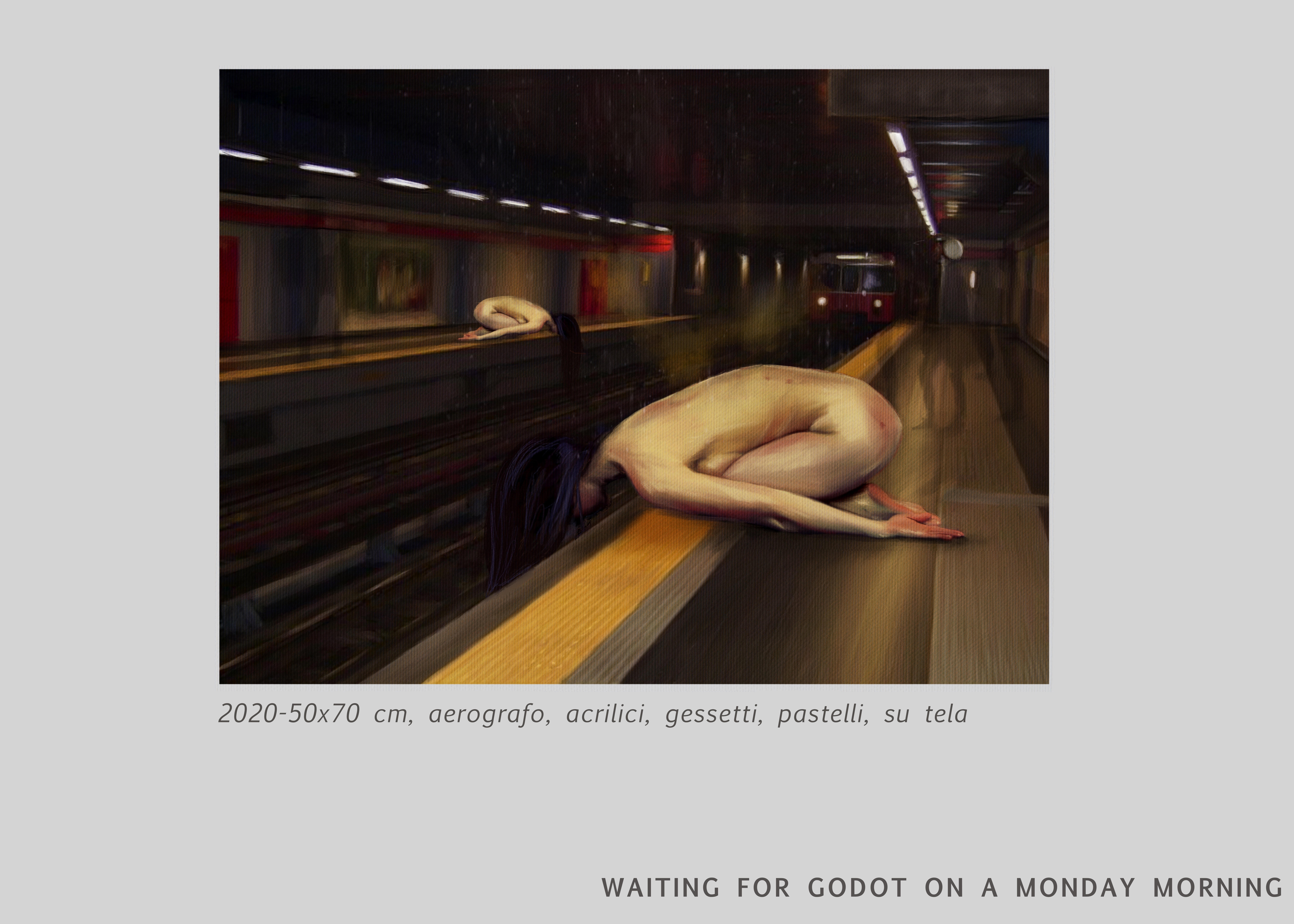 WAITING FOR GODOT ON A MONDAY MORNING-CHIARA LUISE